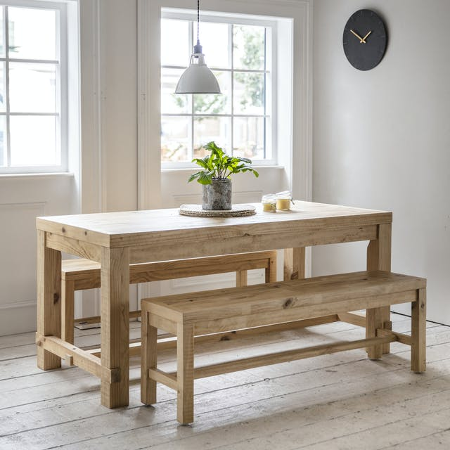 Brookville Table and Bench Set