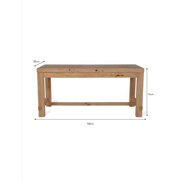 Wooden Brookville Table in Small or Large | Garden Trading