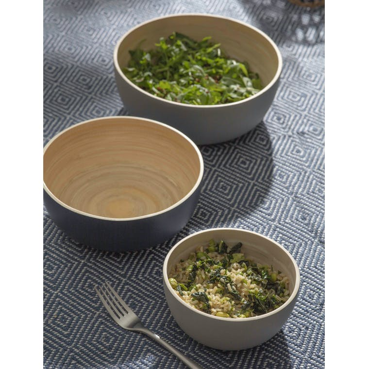 Garden Trading Set of 3 Purbeck Bowls - Bambo