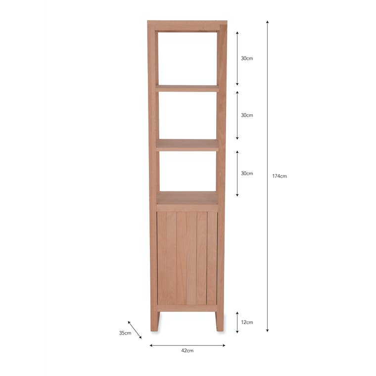 Wooden Tall Southbourne Cabinet | Garden Trading