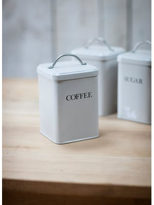 Steel Coffee Canister