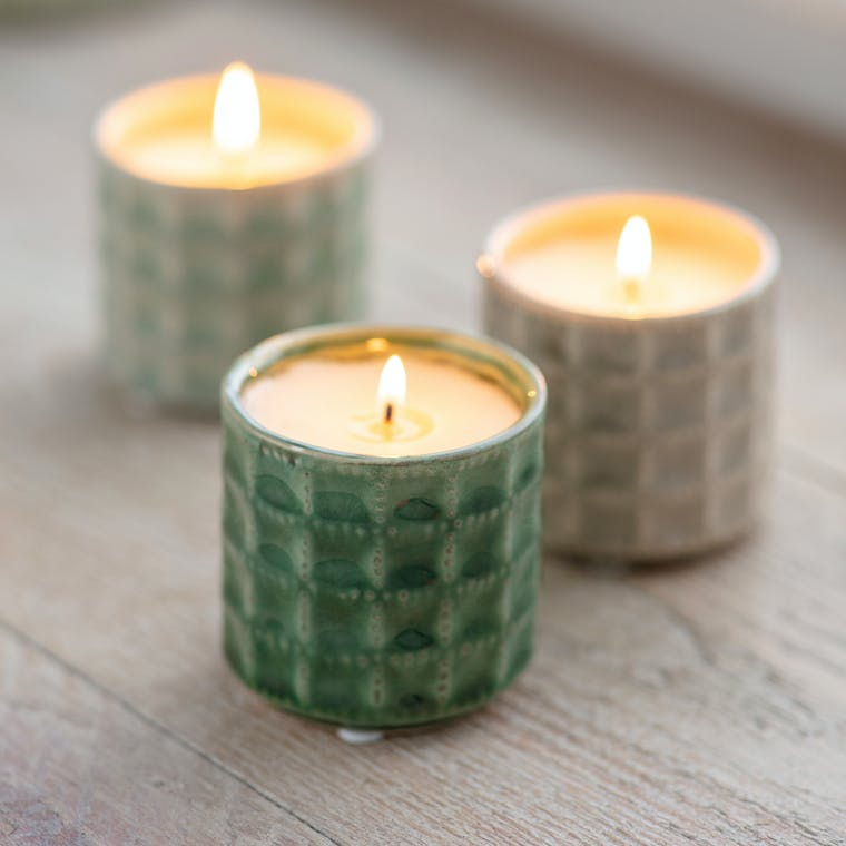Sorrento Candle in Thyme, Hay Meadow or Camomile Lawn | Garden Trading