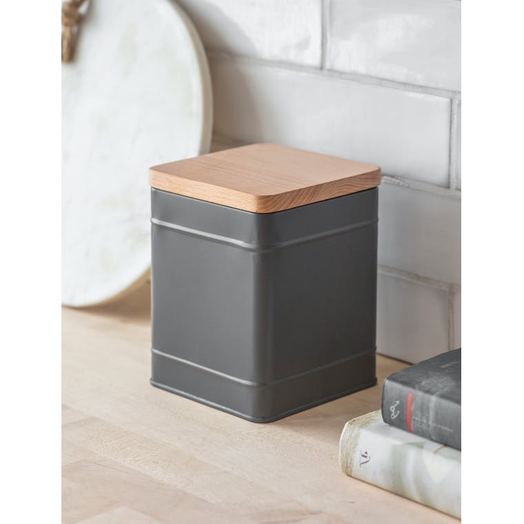 Garden Trading Borough Canister, Large in Charcoal