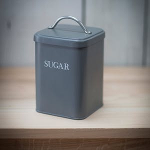 Steel Sugar Canister