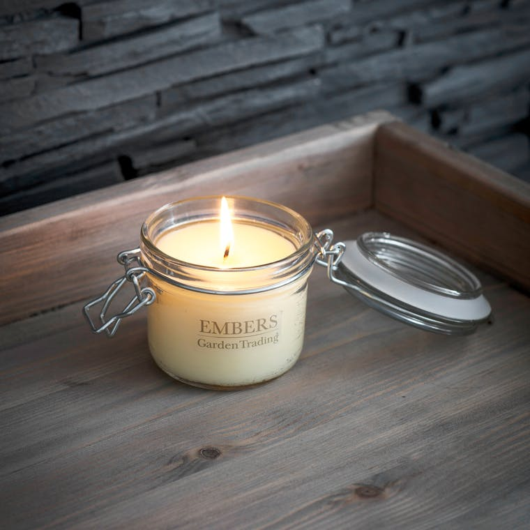 Embers House Candle   Garden Trading