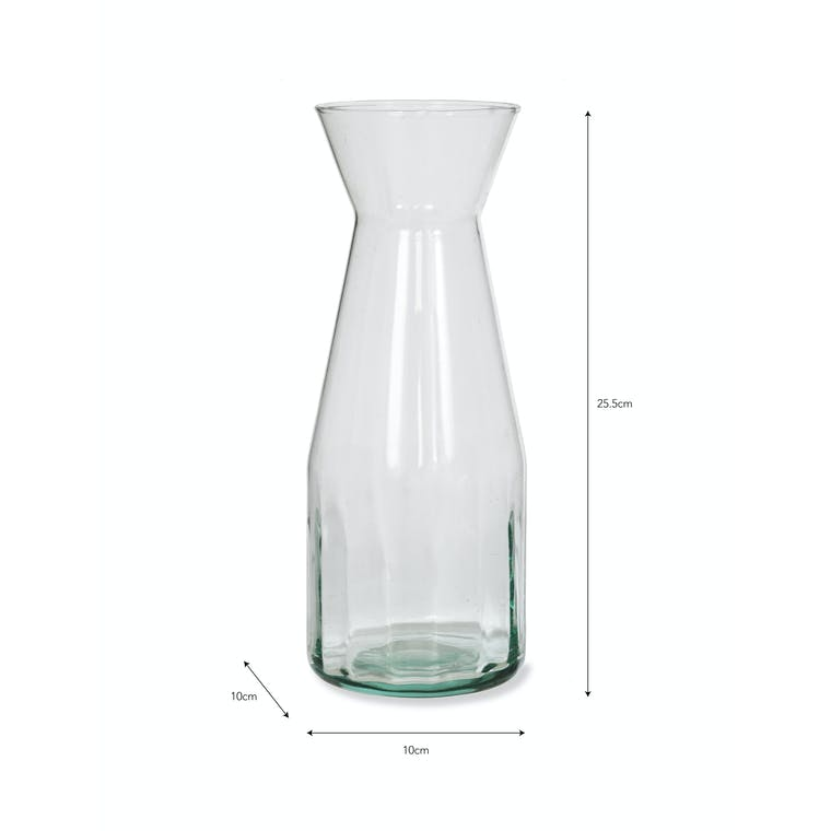 Recycled Glass Broadwell Carafe | Garden Trading