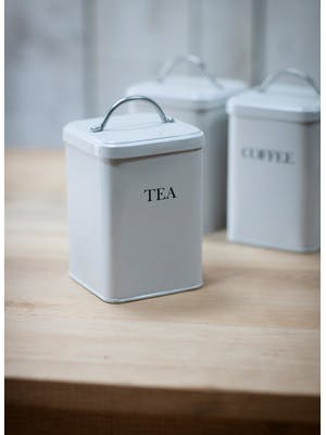 Steel Tea Canister