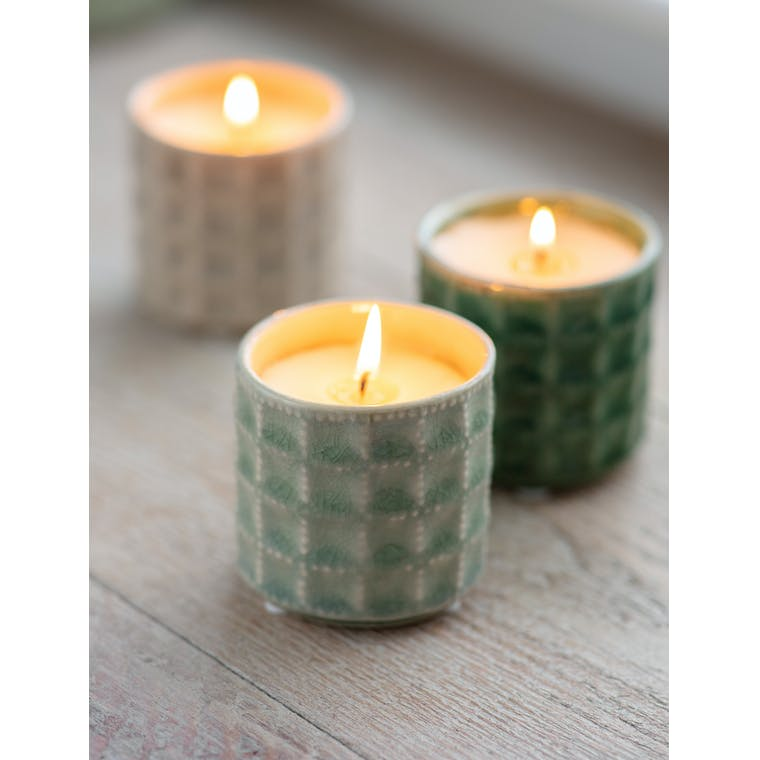 Garden Trading Sorrento Candle in Sage - Thyme & Mint - Ceramic