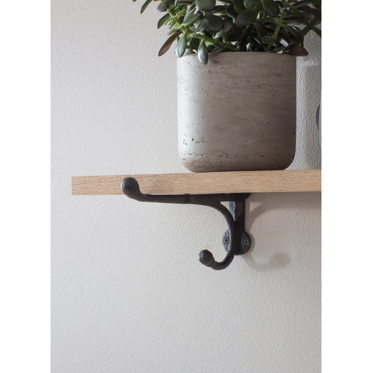 Cast Iron Bracket Shelf Small