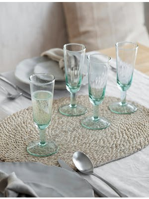 Set of 4 Broadwell Champagne Flutes