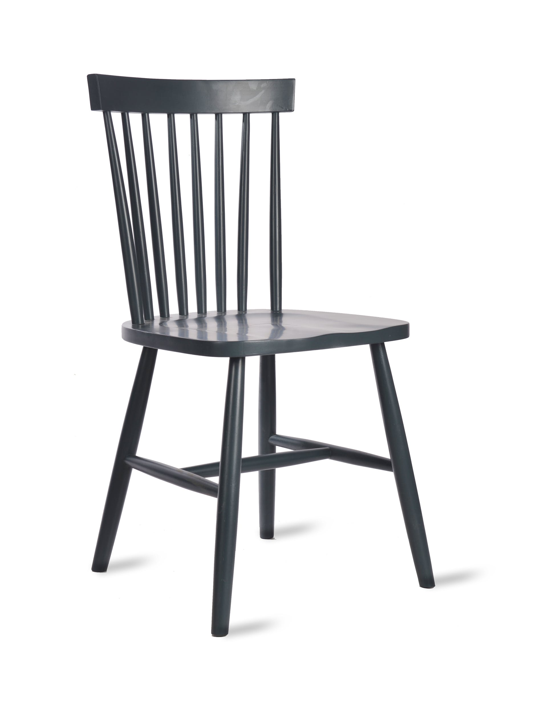 Wooden Spindle Back Chair in Brown or Black | Garden Trading