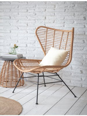 Hampstead Winged Back Chair