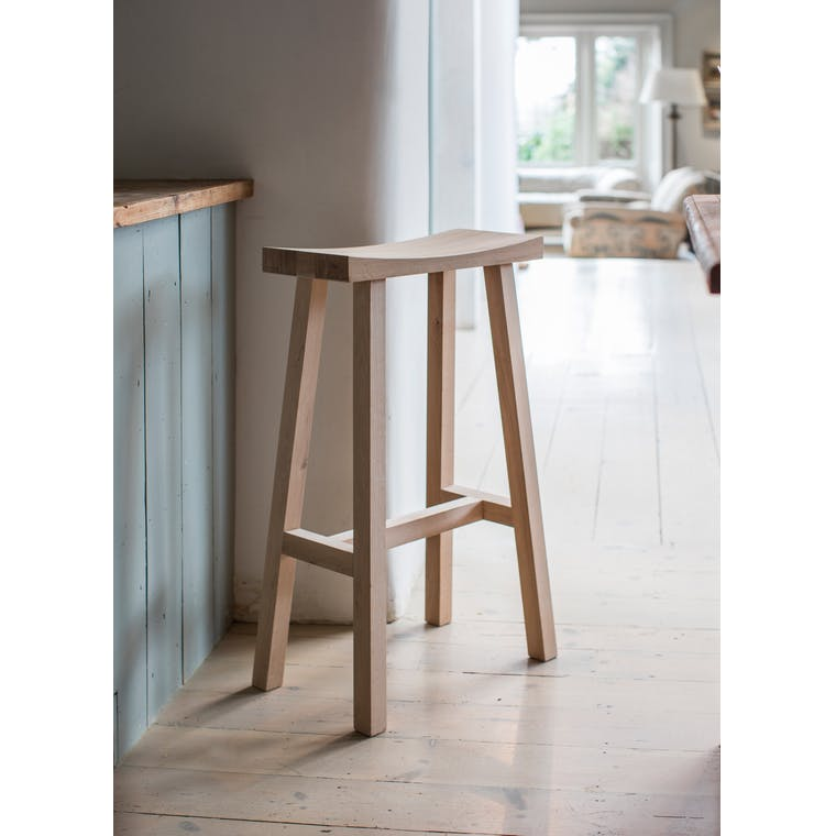 Wooden Tall Clockhouse Stool in Grey, Black, Brown or White | Garden Trading
