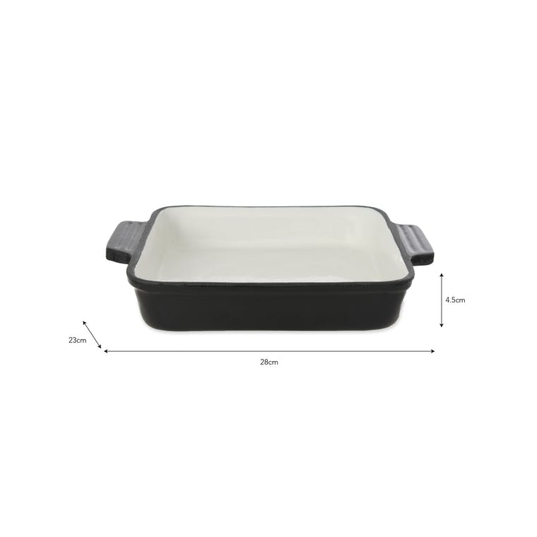 Cast Iron Widford Oven Dish in Rectangular or Square | Garden Trading