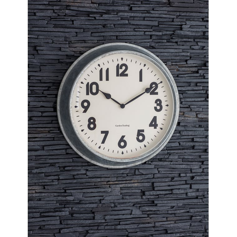 Garden Trading Indoor/Outdoor Wall Clock