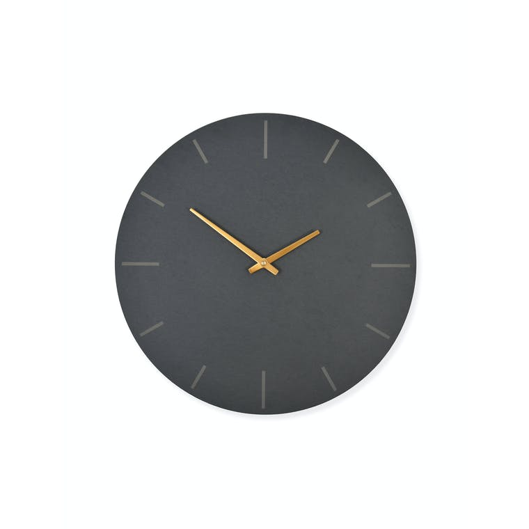 Slate Coleridge Clock in Small or Large | Garden Trading