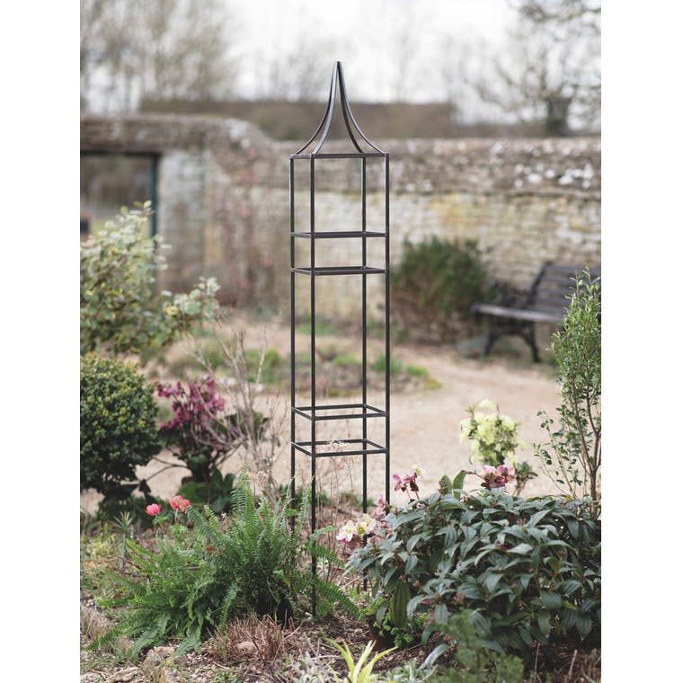 Charlbury Obelisk Plant Support, Small by Garden Trading