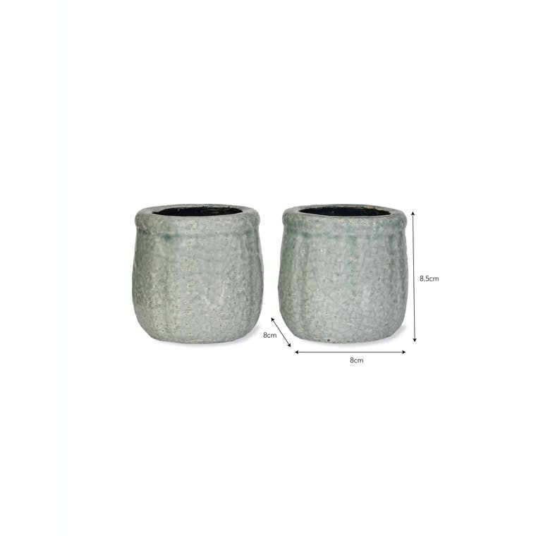 Ceramic Pair of Minori Pots | Garden Trading