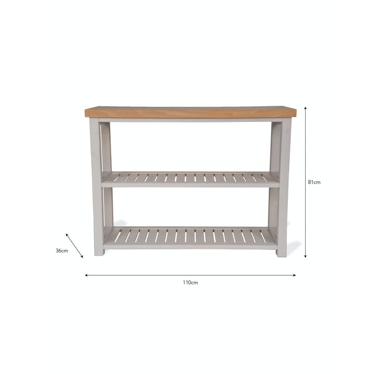 Wooden Chapman Console Table | Garden Trading