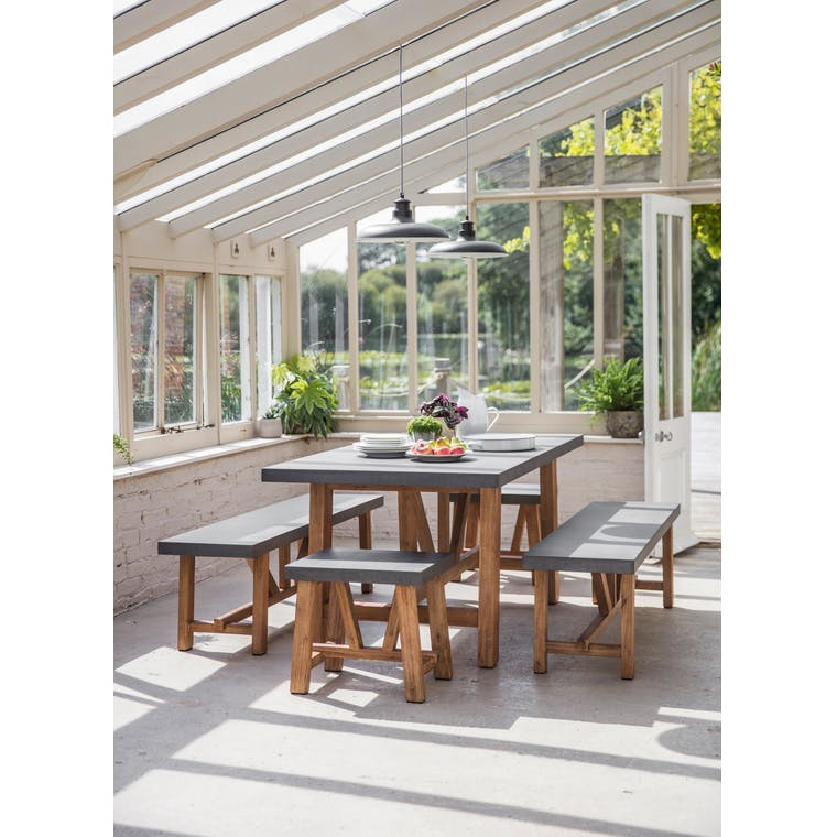 Cement Indoor Outdoor Chilson Set in Small or Large | Garden Trading