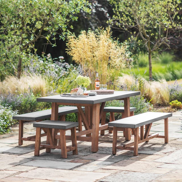 Chilson Table and Bench Set