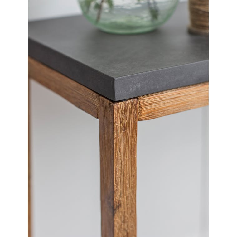 Cement Indoor Chilson Console Table | Garden Trading