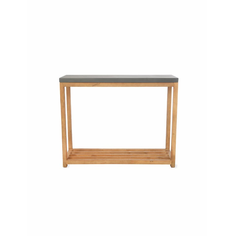 Cement Chilson Console Table | Garden Trading