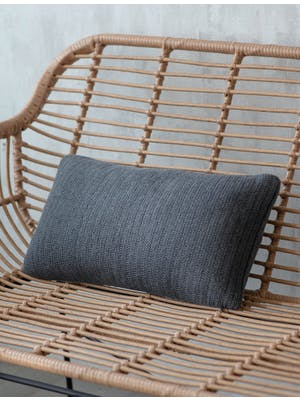 Dark Grey Orford Cushion