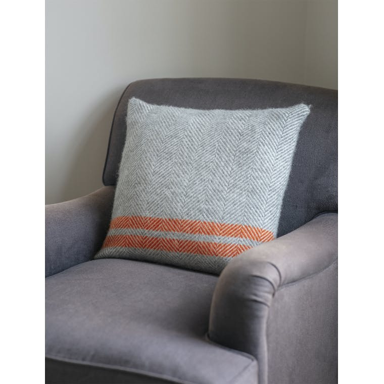 Garden Trading Grey Tweedmill Cushion