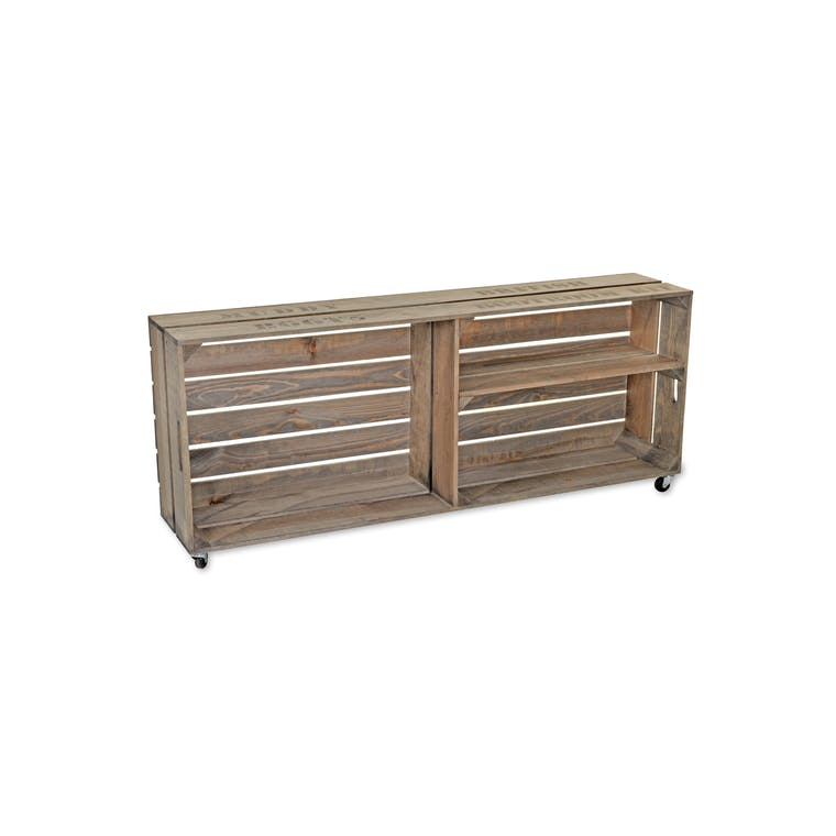 Wooden Colworth Welly Crate  | Garden Trading
