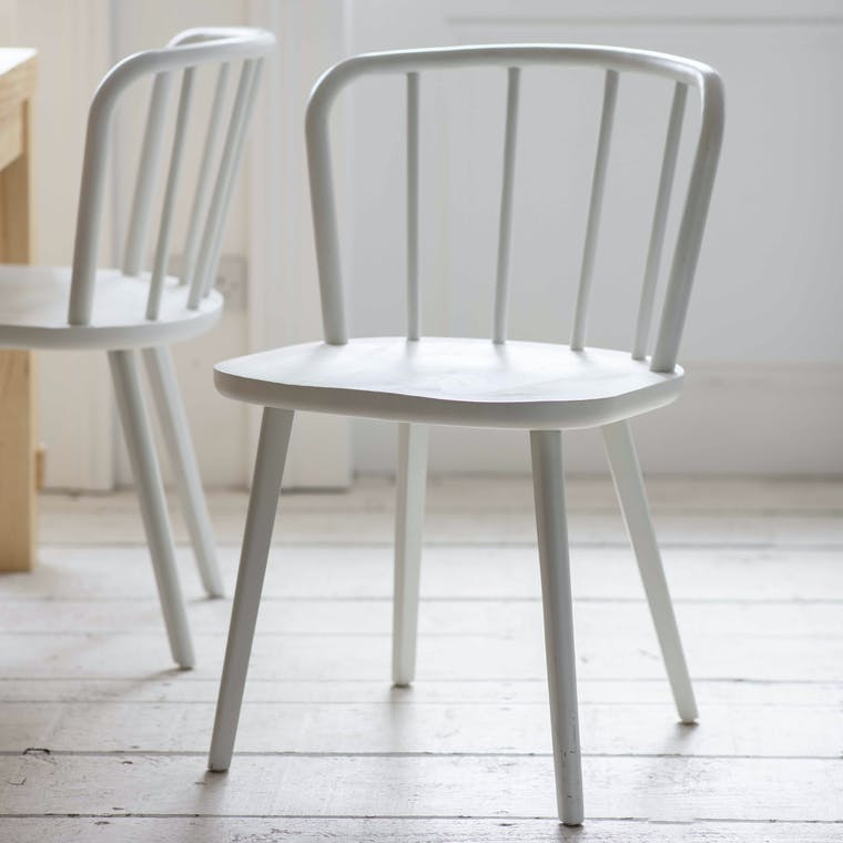 Wooden Set of 2 Uley Dining Chairs | Garden Trading