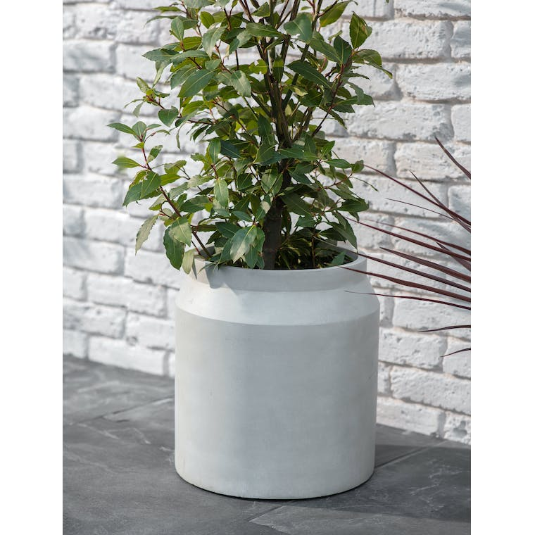 Draycott Planter, Large in Limestone by Garden Trading