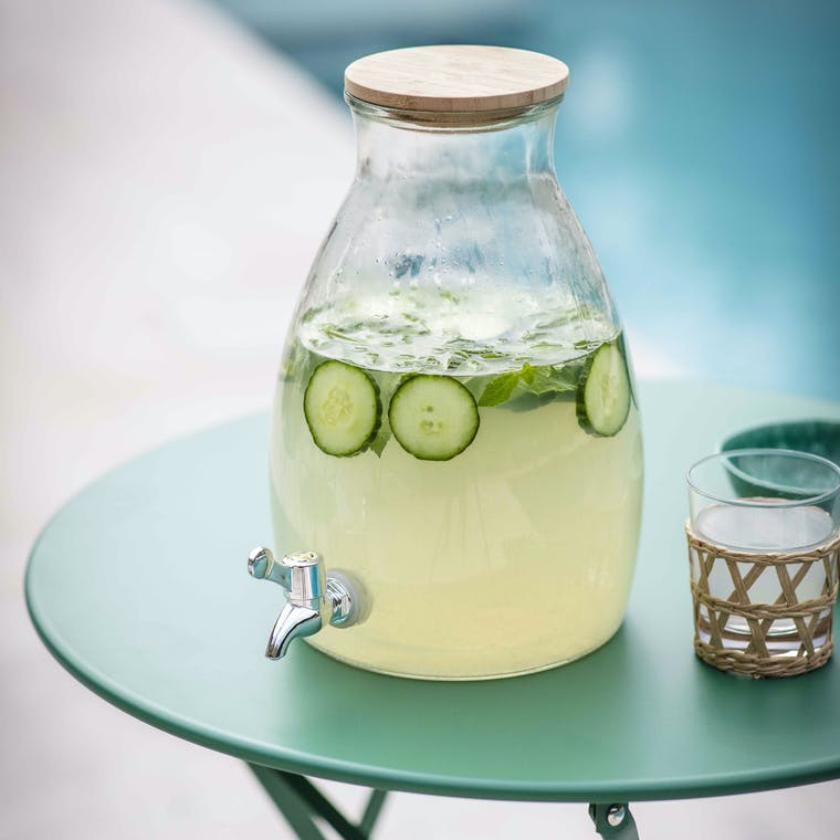 Glass Drinks Dispenser | Garden Trading