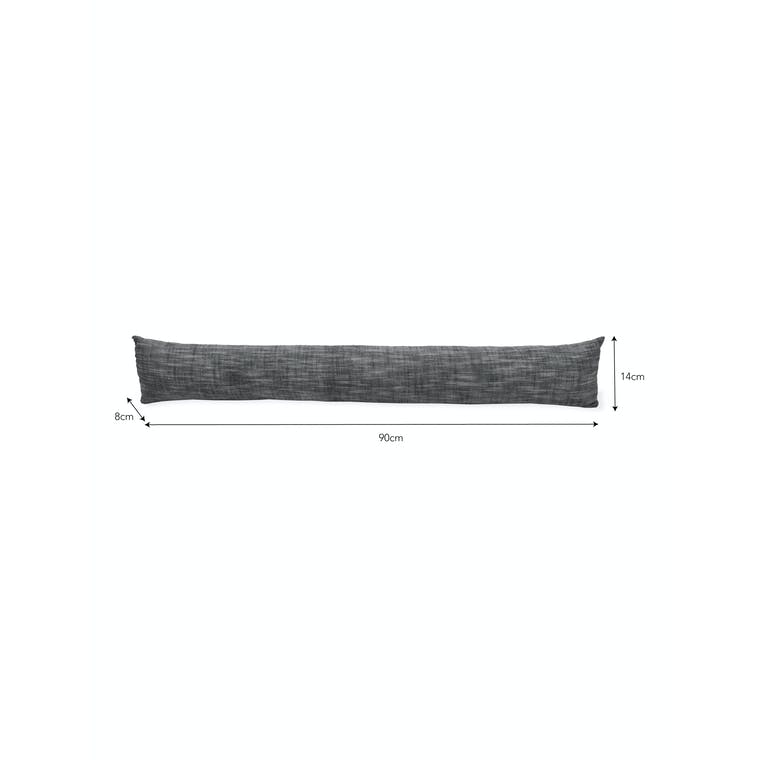 Black Chambray Draught Excluder | Garden Trading