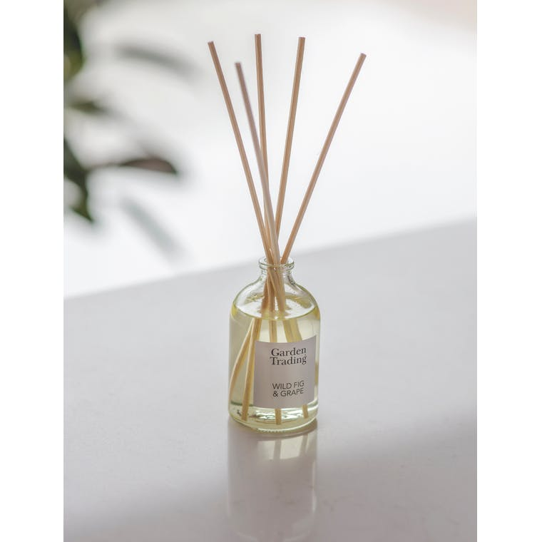 Clear Glass Diffuser in Wild Fig & Grape by Garden Trading