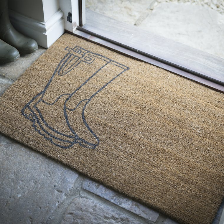 Coir Welly Doormat in Small or Large | Garden Trading