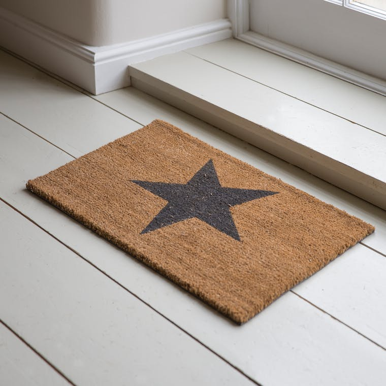 Indoor Star Doormat in Small or Large  | Garden Trading