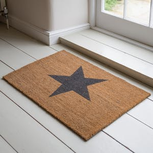 Natural Star Doormat