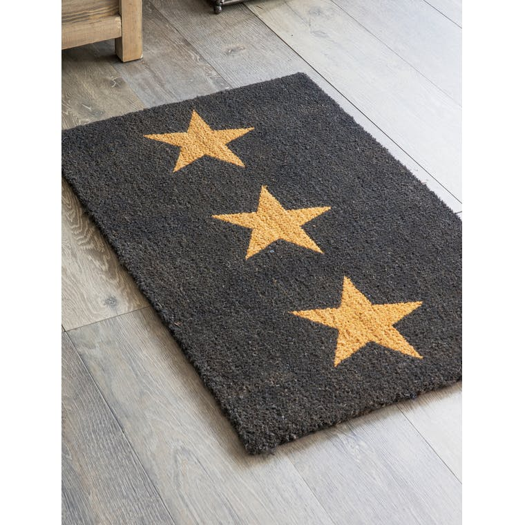 Garden Trading Large Doormat with 3 Stars