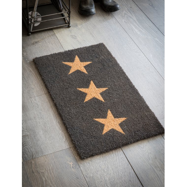 Garden Trading Small Doormat with 3 Stars