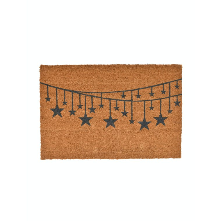 Coir Star Bunting Doormat in Small or Large | Garden Trading