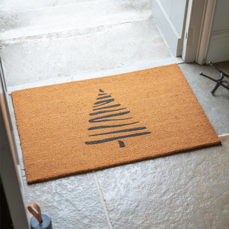 Coir Tree Doormat in Small or Large | Garden Trading