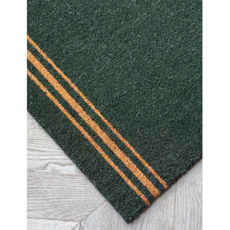 Coir Green Triple Star Doormat in Small or Large | Garden Trading