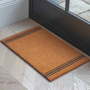 Natural Triple Stripe Doormat