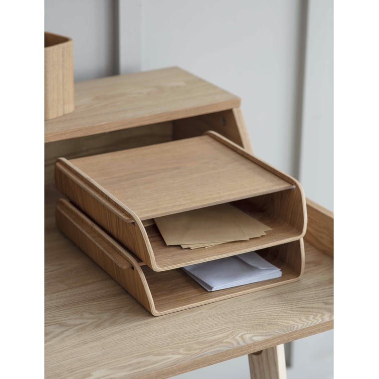 Garden Trading Brushfield Stacking Desk Organiser