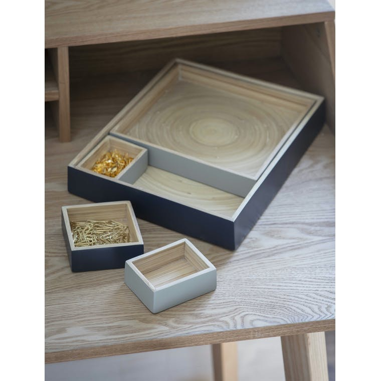 Garden Trading Set of 5 Purbeck Desk Trays