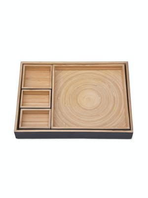 Set of 5 Purbeck Desk Trays