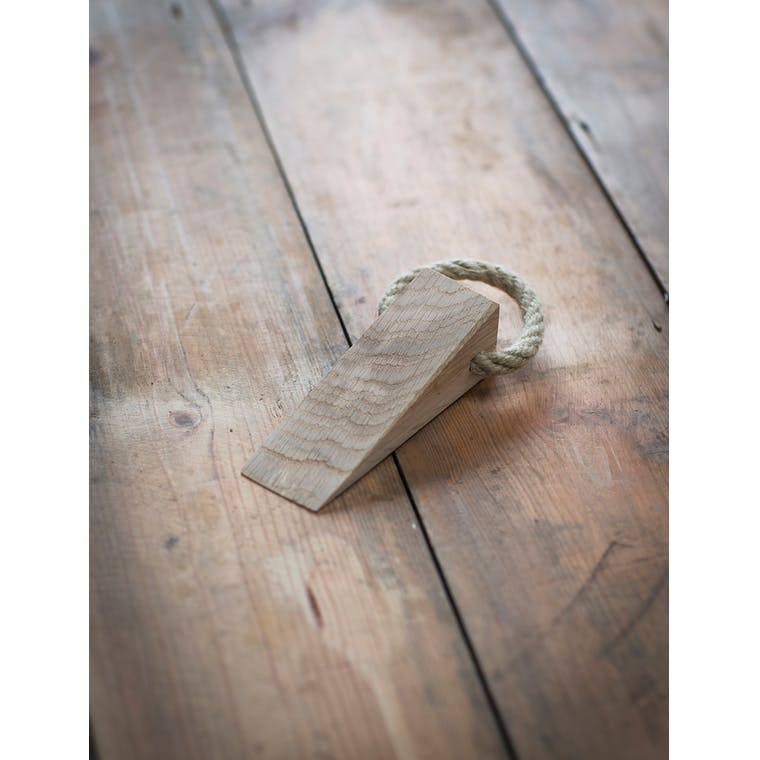 Raw Oak Hambledon Door Wedge | Garden Trading