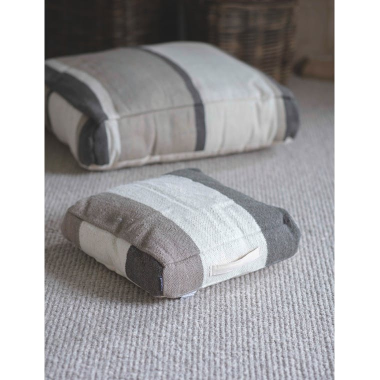 Wool Beccles Floor Cushion in Medium or Large | Garden Trading