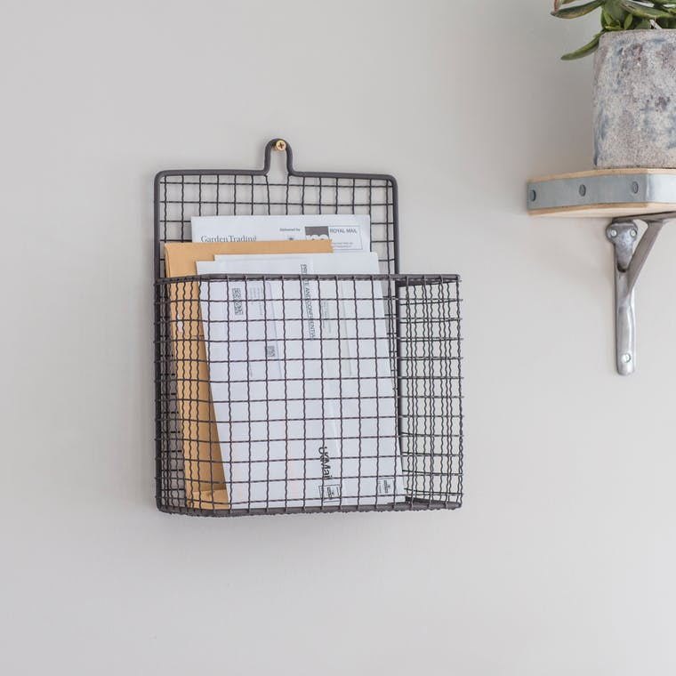 Wirework Farringdon Letter Holder | Garden Trading